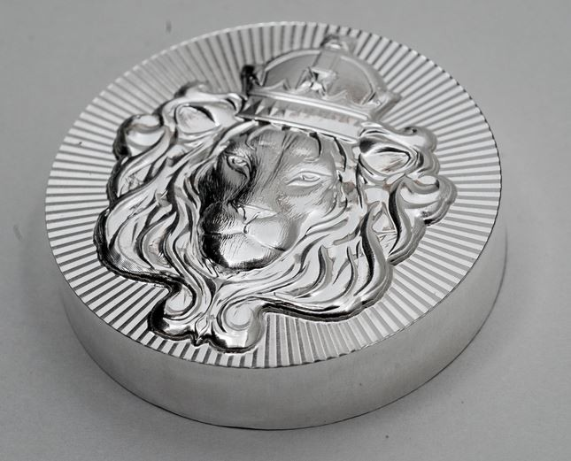 100g Scottsdale Stacker Silver Round