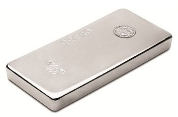 100oz Perth Mint Silver Cast Bar