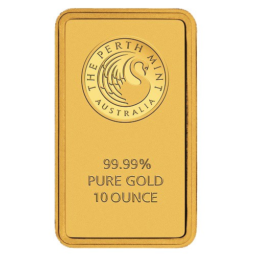 10oz Perth Mint Gold Bar