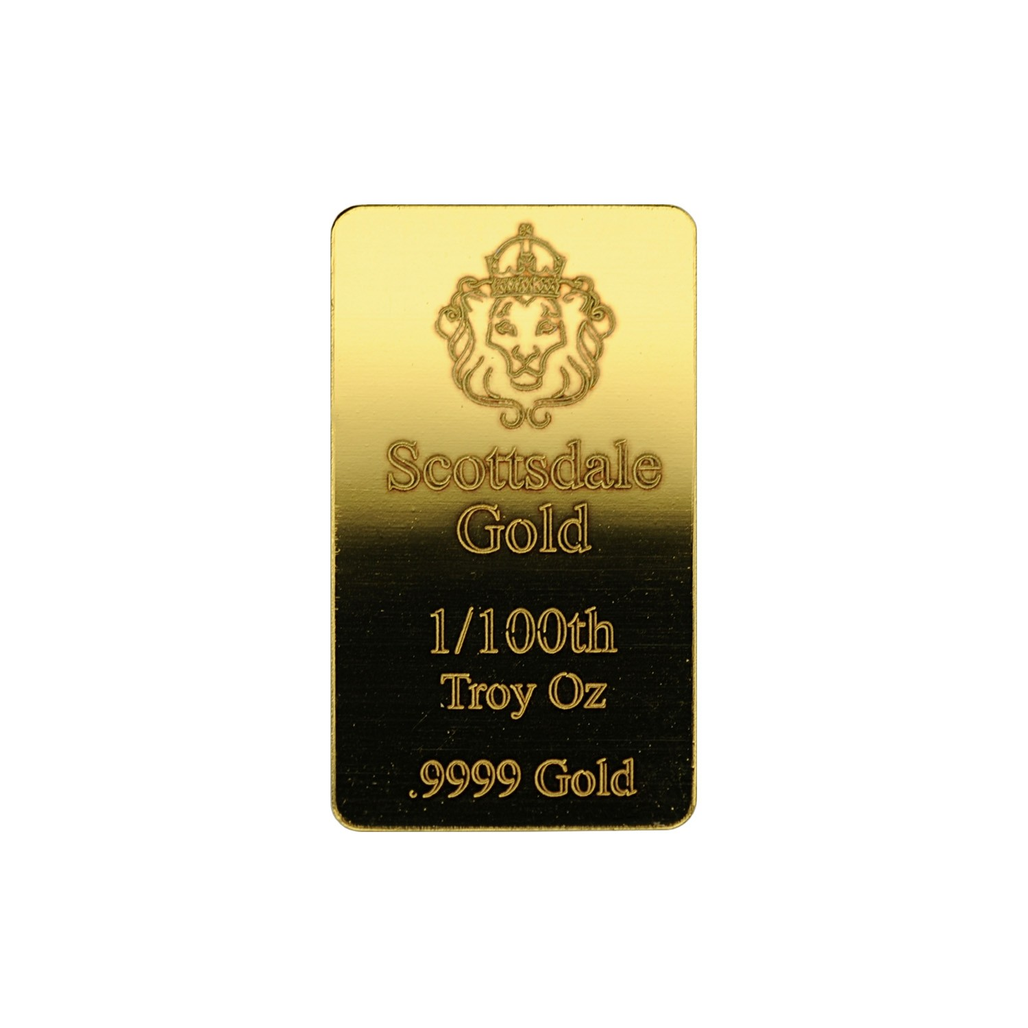1/100oz Scottsdale (Fractional) Gold Bar