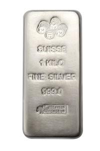 1kg Pamp Suisse Silver Cast Bar