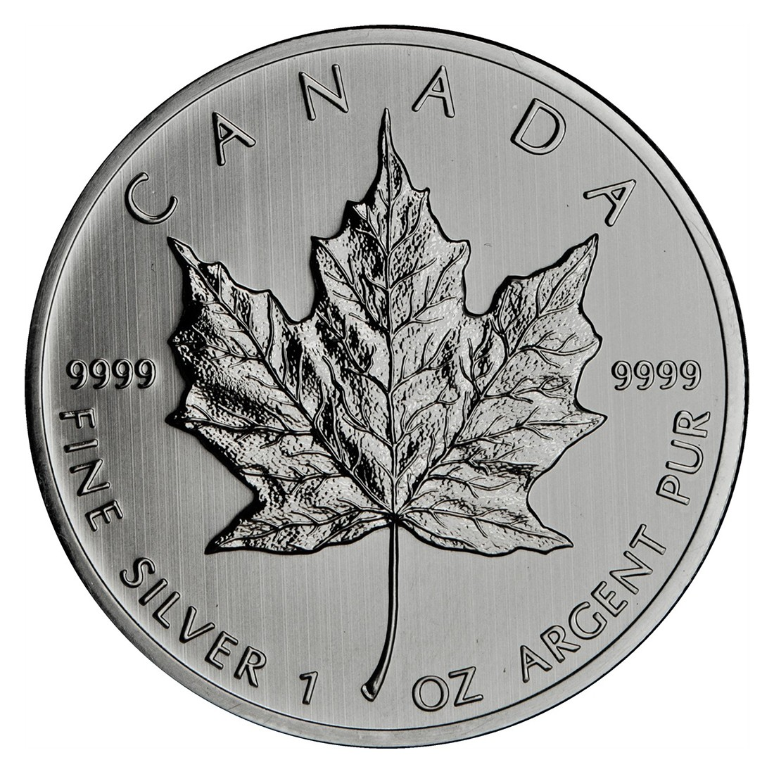 1oz Canadian Maple Leaf Silver Coin