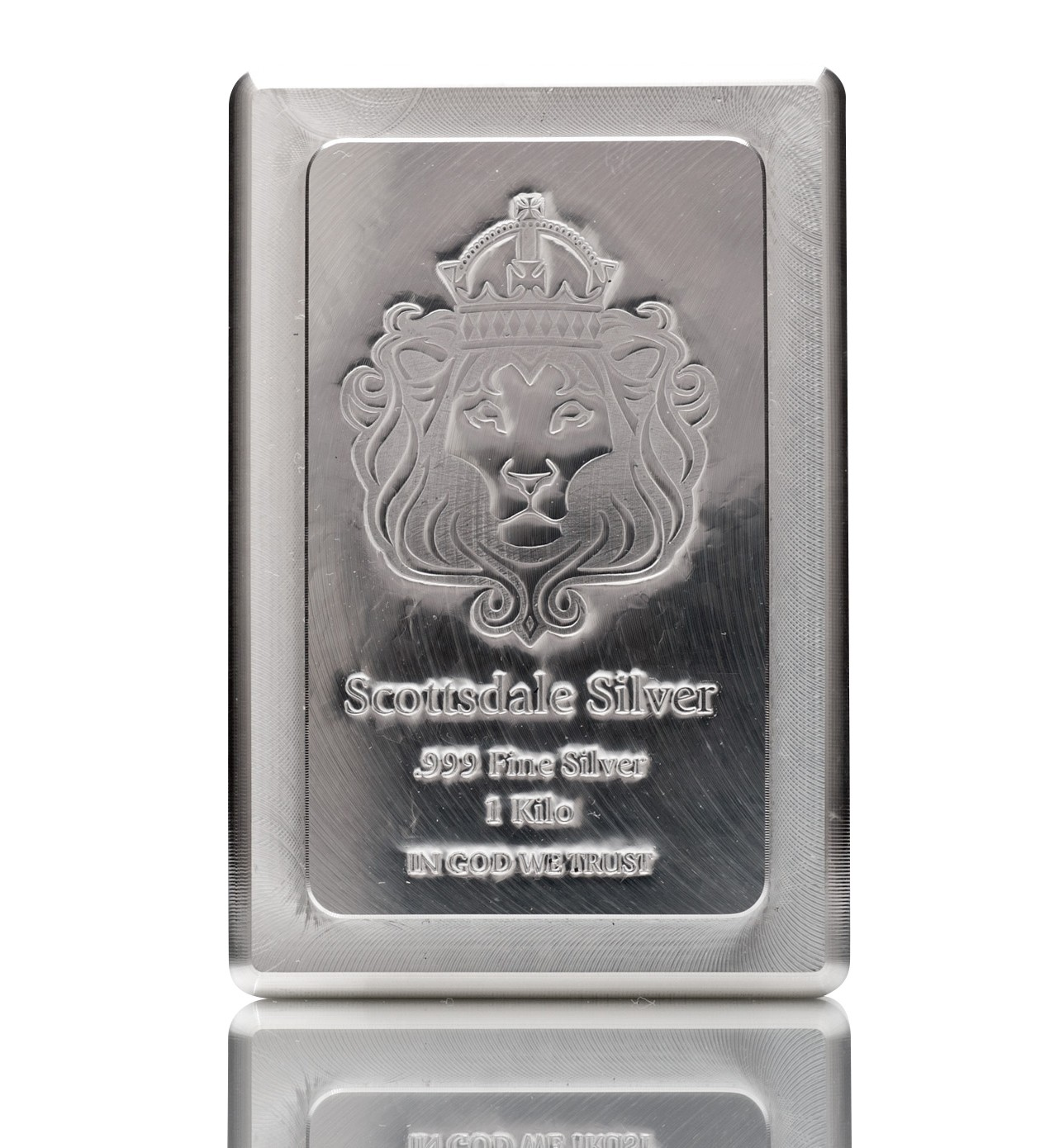 1kg Scottsdale KILO Stacker Silver Bar