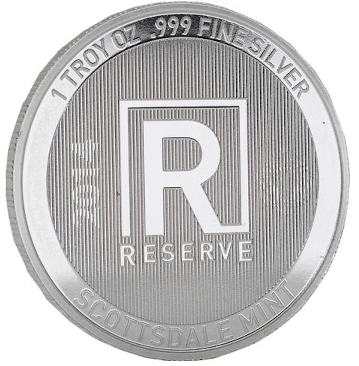 1oz Scottsdale RESERVE Silver Round