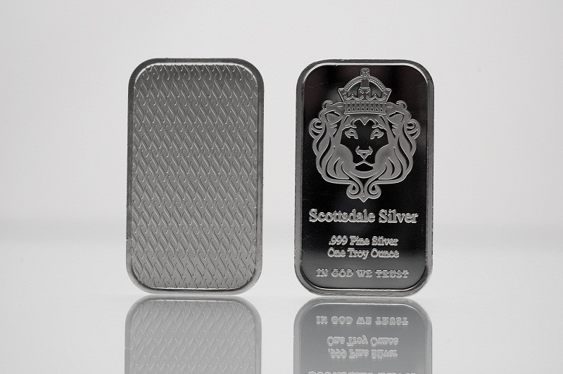 1oz Scottsdale Silver Bar - The One