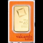 100g Valcambi Gold Minted Bar