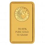 10g Perth Mint Gold Bar