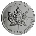 1oz Canadian Maple Leaf Silver Coin (Various Years)