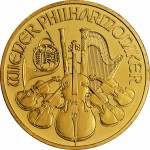 1oz Austrian Philharmonic Gold Coin (Various Years)