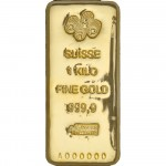 1kg Pamp Suisse Gold Cast Bar