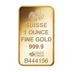 1oz Pamp Suisse Minted Fortuna Gold Bar