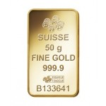 50g Pamp Suisse Minted Fortuna Gold Bar
