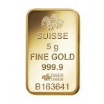 5g Pamp Suisse Minted Fortuna Gold Bar