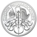 1oz Austrian Philharmonic Silver Coin (Various Years)