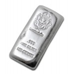 100g Scottsdale Silver Cast Bar