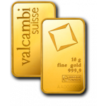 10g Valcambi Gold Minted Bar