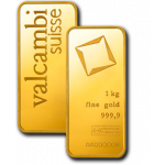 1kg Valcambi Gold Minted Bar