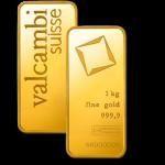 1kg Valcambi Gold Minted Bar