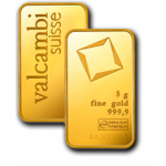 5g Valcambi Gold Minted Bar