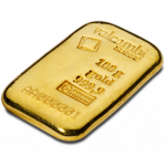 100g Valcambi Gold Cast Bar