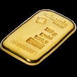 100g Valcambi Gold Cast Bar