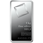 1kg Valcambi Silver Minted Bar
